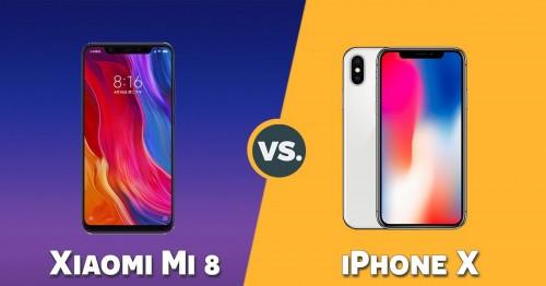 So sánh Xiaomi Mi 8 và iPhone X: Khi 'bản sao' trở nên hoàn hảo