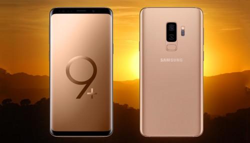 S9+ màu Sunrise Gold sẽ có mặt tại Ấn Độ vào ngày 23/6