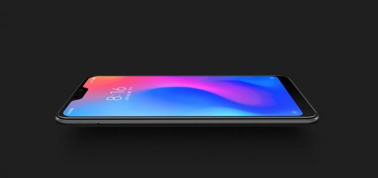Xiaomi Redmi 6 Pro đen nhám