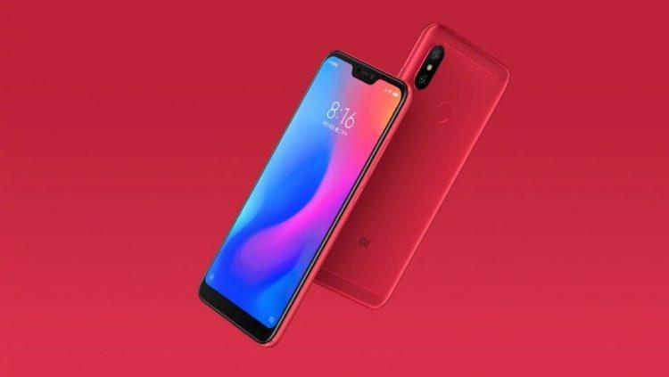 Xiaomi Redmi 6 Pro đỏ