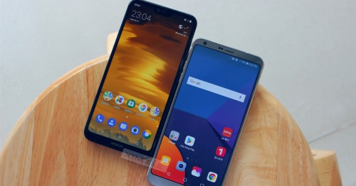 Nokia X6 và LG G6 bước lên sàn đấu - Căng hơn cả World Cup