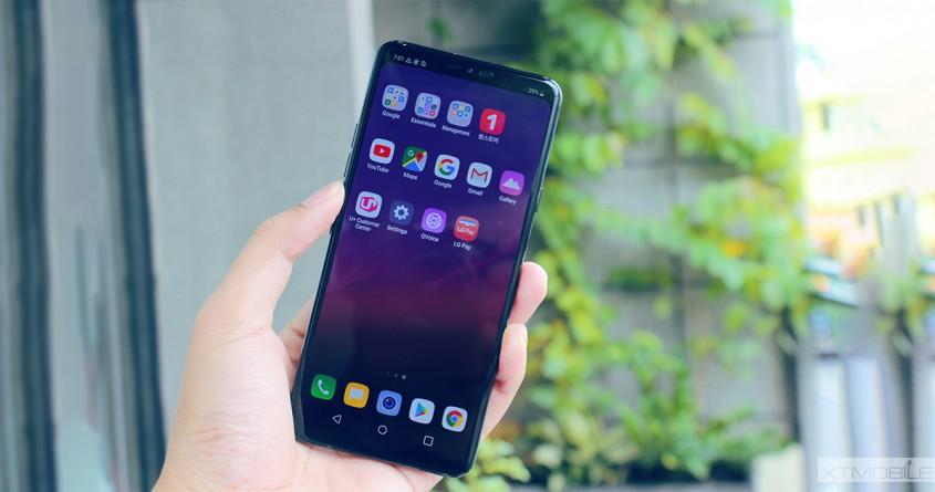 LG G7+ ThinQ đầu tiên về Việt Nam