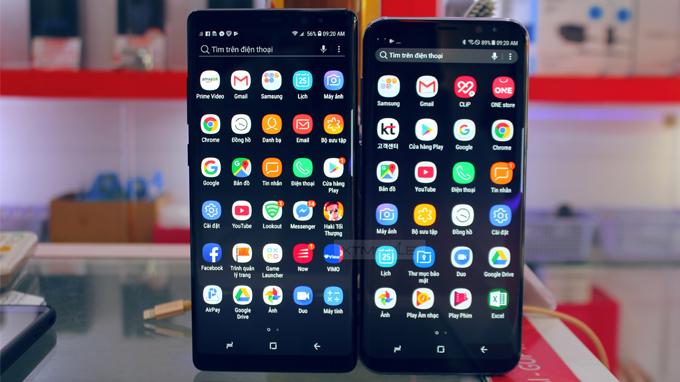 màng hình Galaxy Note 8 và samsung s8  - xtmobile