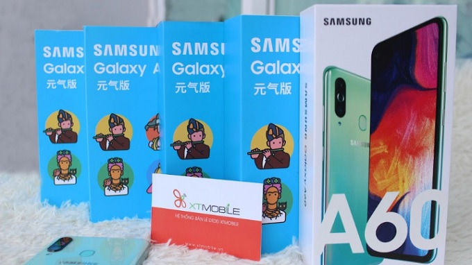 Galaxy A60 64GB đã có mặt tại hệ thống XTmobile