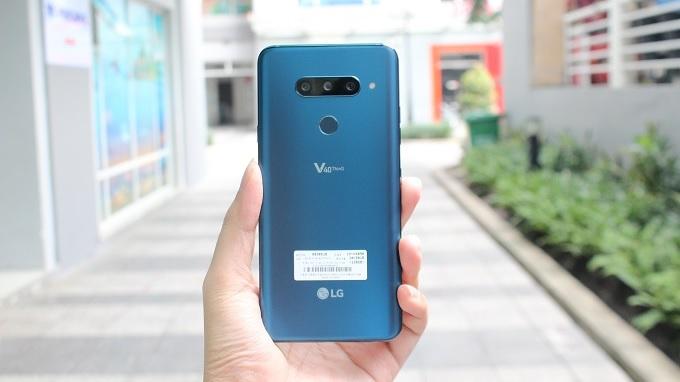 Thiết kế LG V40 tinh tế tới từng chi tiết