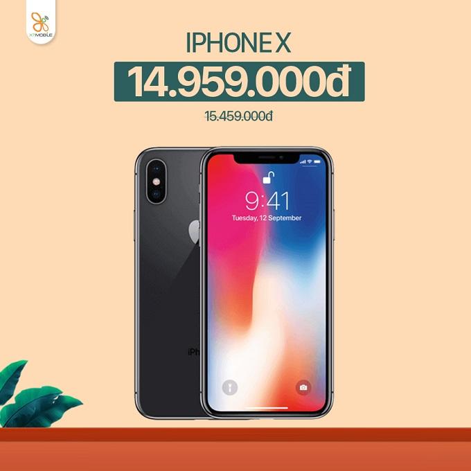 iPhone X 64GB giá chỉ 14,9 triệu