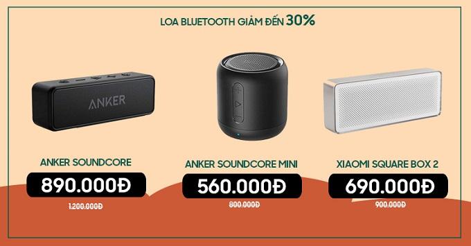 Loa Bluetooth giảm 30% tại XTmobile