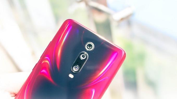 Cụm 3 camera cực chất ở mặt lưng Redmi K20 Pro