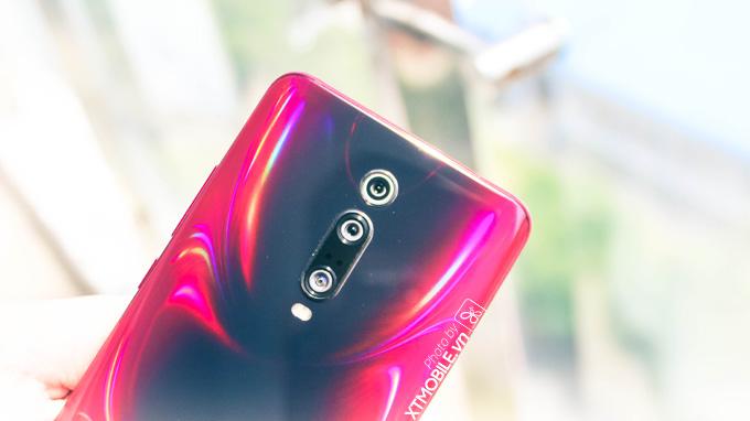 Điện thoại Redmi K20 Pro được trang bị cụm 3 camera ở mặt sau