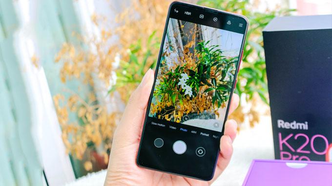 Camera redmi k20 pro hỗ trợ nhiều tính năng độc đáo