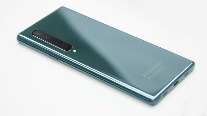 Phiên bản Galaxy Note 10 dự kiến sẽ ra mắt với bộ nhớ thông thường 128GB