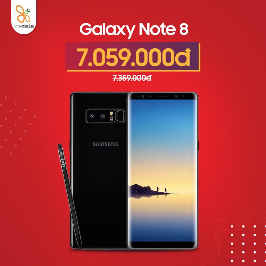 Galaxy Note 8 giảm thêm 300k tại Quang Trung