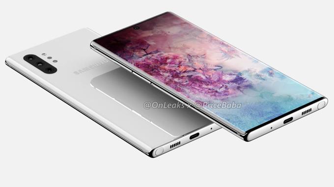 Samsung sẽ cho ra mắt 4 phiên bản Galaxy Note 10