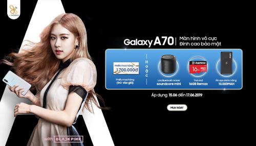 Mua Galaxy A70 chính hãng tại XTmobile giá chỉ còn 7,59 triệu đồng
