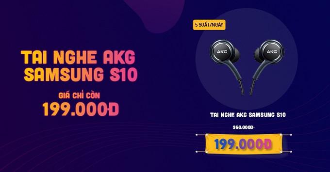 Tai nghe Samsung AKG S10 giá chỉ 199K tại XTmobile