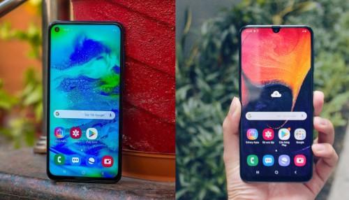 So sánh Galaxy M40 và Galaxy A50: Cuộc đối đầu nội bộ đầy thú vị