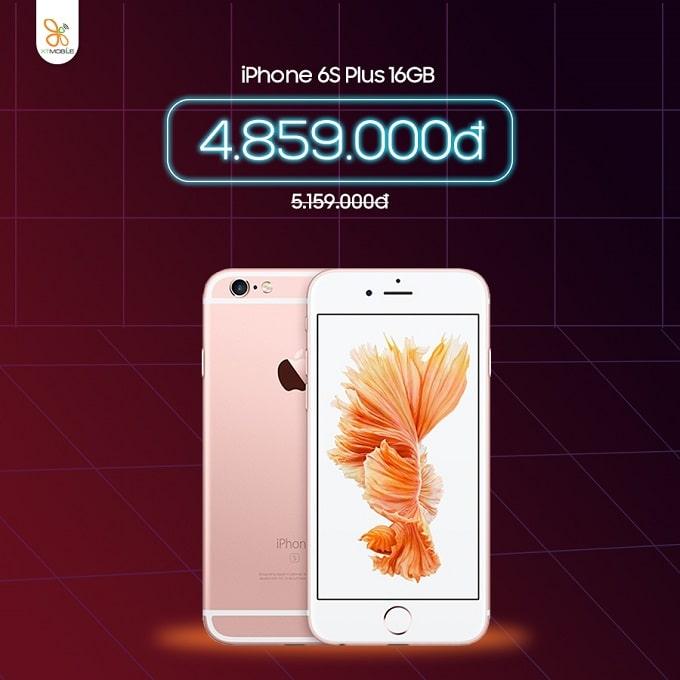 iPhone 6S Plus 16GB cũ giảm thêm 300 ngàn tại XTmobile Thủ Đức