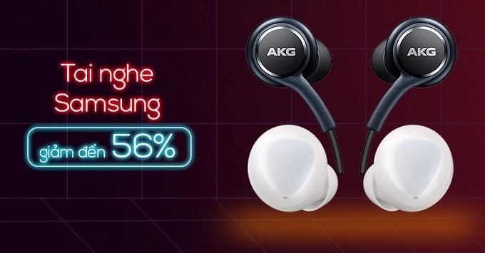 Tai nghe Samsung giảm đến 56% tại XTmobile Thủ Đức
