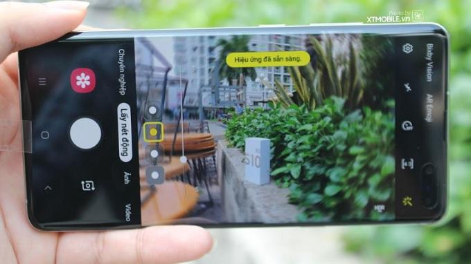 Ứng dụng camera Galaxy S10 5G chụp ảnh chuyên nghiệp
