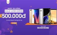 Sale linh đình: iPhone 7 Plus, Galaxy Note 9 giảm thêm đến 500K