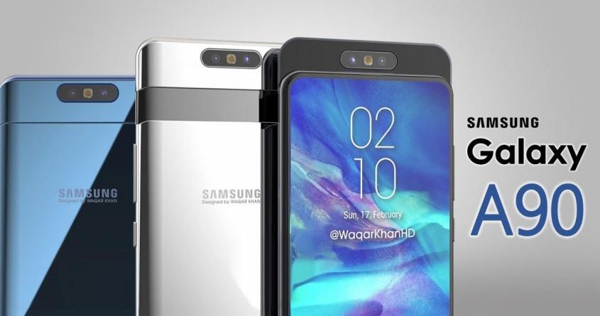 Lộ cấu hình Galaxy A90: Hỗ trợ 5G, công nghệ Tilt OIS độc quyền