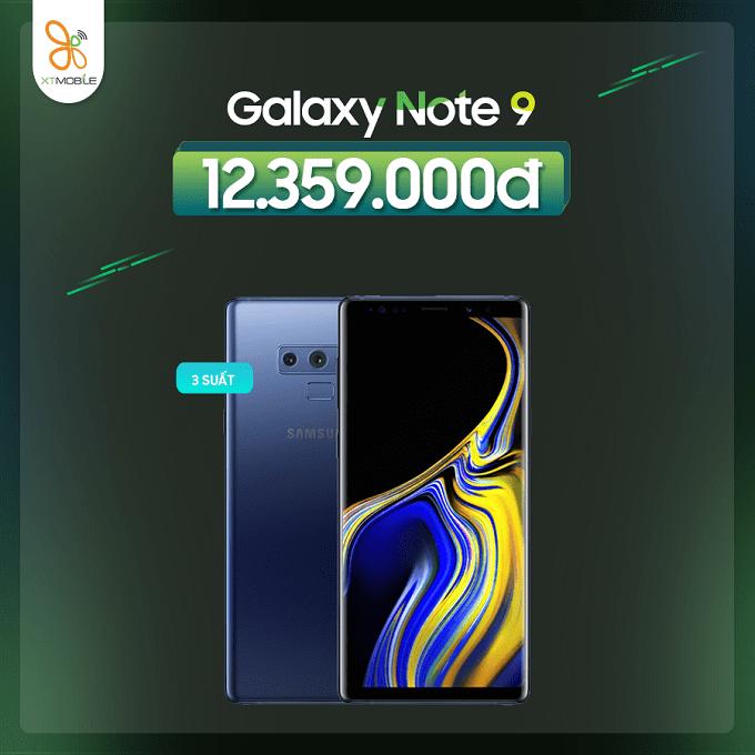 Galaxy Note 9 128GB Hàn mới giảm thêm 300K