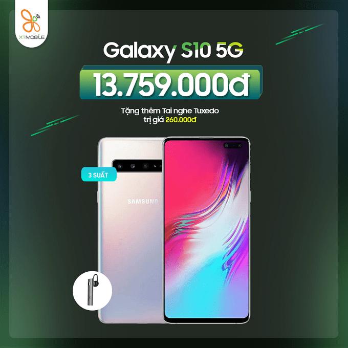 Mua Galaxy S10 5G cũ nhận ưu đãi đến 460K