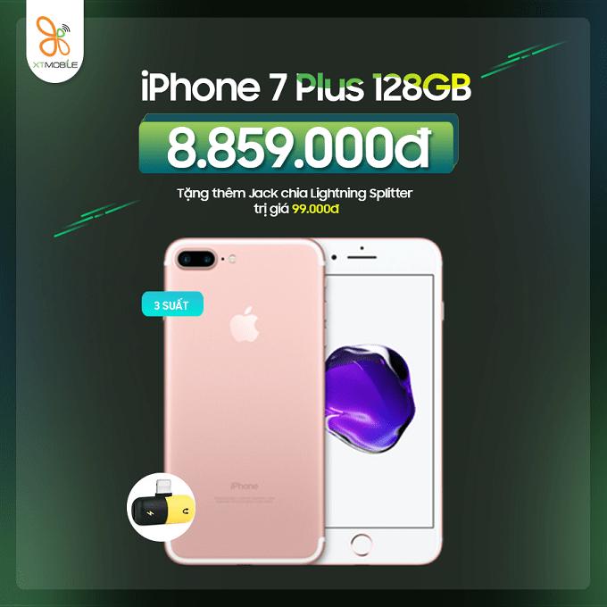 Mua iPhone 7 Plus 128GB cũ nhận ưu đãi đến 399K