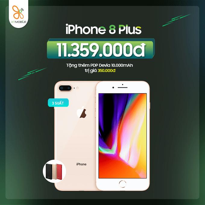 Mua iPhone 8 Plus 64GB cũ nhận ưu đãi đến 750K