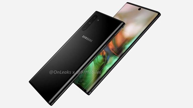 Galaxy Note 10 sẽ được tích hợp viên pin mới