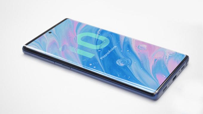 Thiết kế Galaxy Note 10 trong năm nay có nhiều thay đổi ấn tượng so với Galaxy Note 9