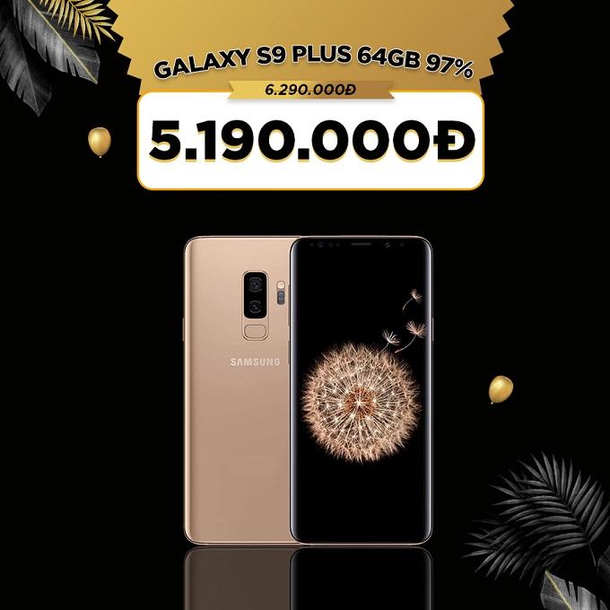 Galaxy S9 Plus giá cực tốt chỉ 5 triệu