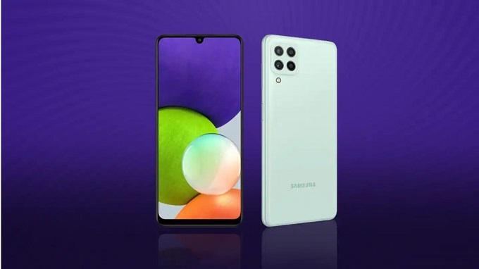 Galaxy A22 4G và Galaxy A22 5G có thiết kế tương đồng nhau