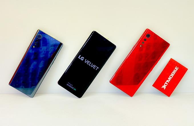 LG Velvet 5G giá rẻ nổi bật với cụm camera hình giọt mưa