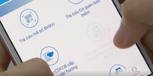 Hướng dẫn tra cứu mã số bảo hiểm xã hội đơn giản trên điện thoại