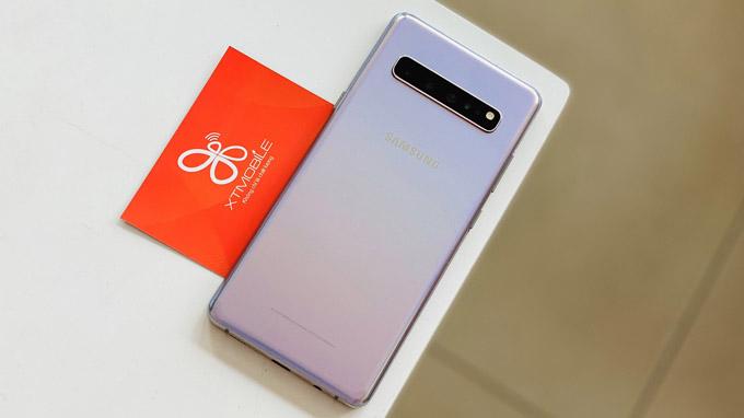 Galaxy S10 5G có thiết kế mỏng nhẹ