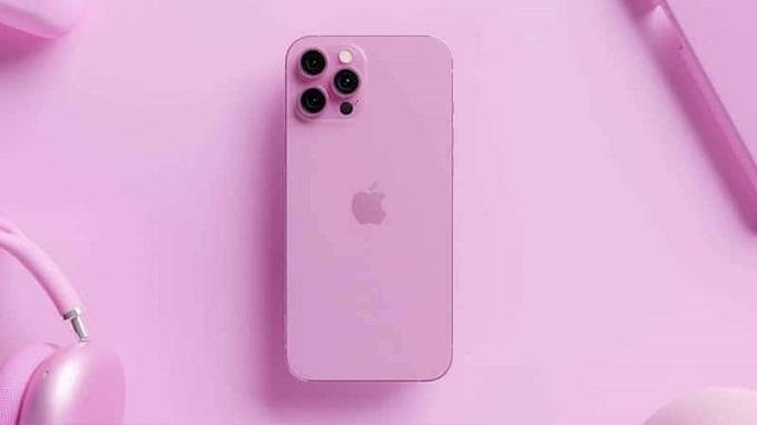 Hình ảnh Iphone 13 Pro màu hồng gây thích thú cho người dùng
