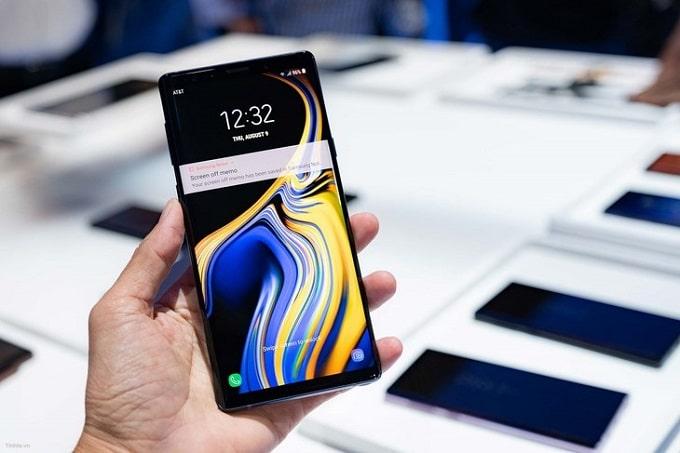 Galaxy Note 9 có thể sử dụng đồng thời 2 SIM