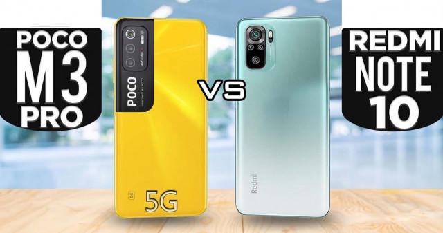Poco M3 Pro 5G và Redmi Note 10 5G: Thiết kế nào đang làm bạn rung động?