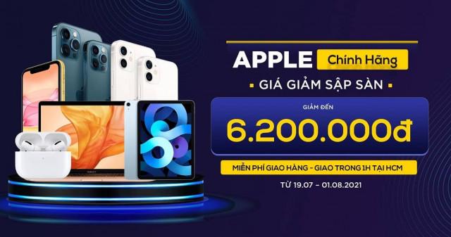 Săn deal Táo xịn: Mua iPhone 12, 12 Pro Max, Macbook Air M1 giá giảm đến 6.2 triệu đồng