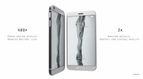 Ngắm kiểu dáng 'đột phá' iPhone 8 với 2 màn hình