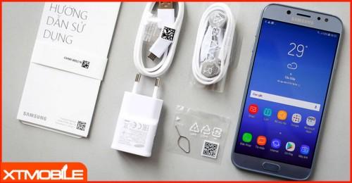 Đập hộp Samsung Galaxy J7 Pro 2017 mới nhất