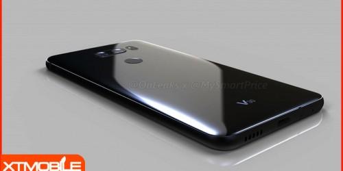 Flagship dòng V của LG, LG V30 lộ diện với camera kép