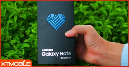 Trên tay Galaxy Note FE chính thức về Việt Nam