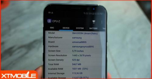 Samsung Galaxy S8 Plus RAM 6GB hút khách tại Việt Nam dù giá cao