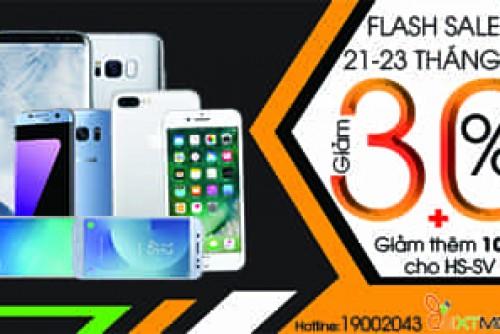Flash Sale tháng 7 - Samsung và hàng loạt di động giảm giá sốc