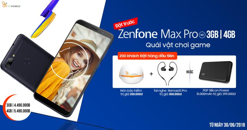 Đặt trước Asus Zenfone Max Pro M1 3GB 4GB