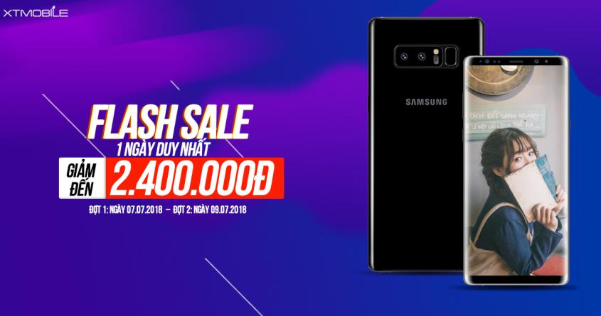 Flash Sale duy nhất 1 ngày - Mua điện thoại giảm sock 2 triệu 4