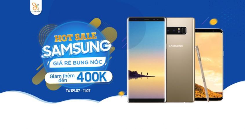 Hot Sale Samsung: Galaxy Note 8, S8 Plus giảm thêm đến 400K