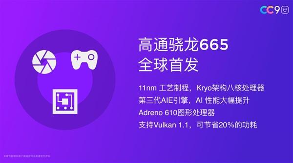 Xiaomi CC9e sử dụng Snapdragon 665 sử dụng quy trình LPP 11nm